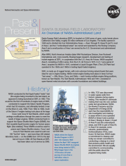 SSFL Past & Present: An Overview of NASA-Administered Land, 2013 document thumbnail