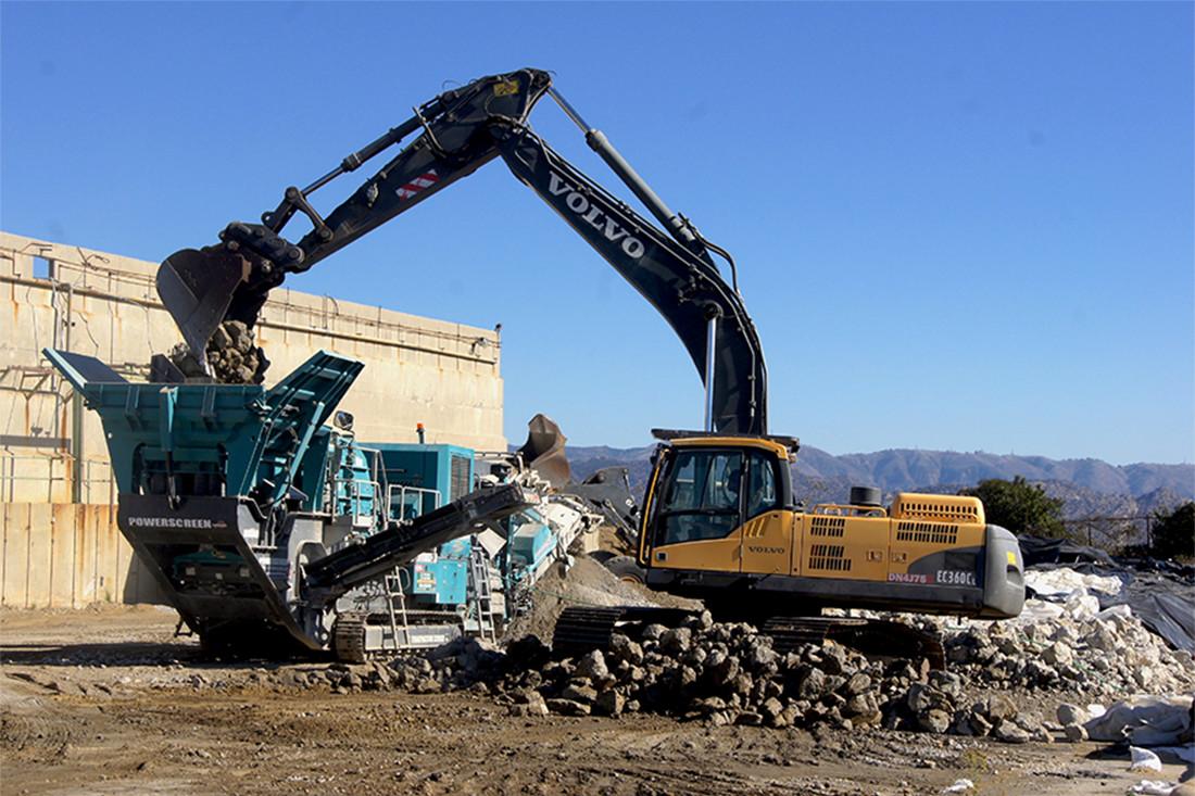 Demolition Concrete Poles : Demolition ssfl nasa